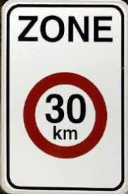 Klein bord voor zone 30 geen excuus meer voor te snel rijden (Gent ...